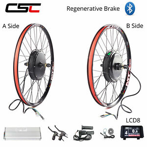 Sun Ringle MTX Ebike Conversion Wheel Kit 1000W 1500W 48V Electric Mountain Bike