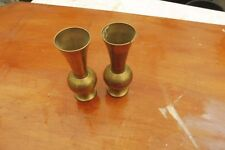 pair matching vases 13 cms tall