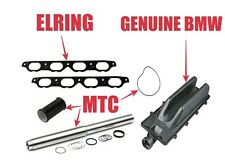 BMW 5 6 7 Series HD Collapsible Coolant Pipe Kit + Gaskets & Seals + Valley Pan