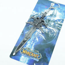 World of Warcraft WOW Weapon Frostmourne Keychain Keyring Game Merchandise #WO2
