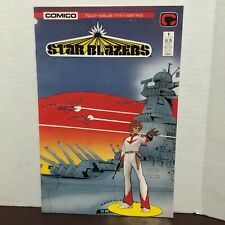1987 Comico Star Blazers Issue 1 Vf/Nm 9.0 From The Animated Tv Series