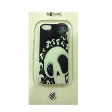 COVER mascherine iphone 5/5S con teschi rigida in plastica I-TOTAL