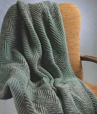 Crochet Pattern ~ Ripple Afghan ~ Instructions