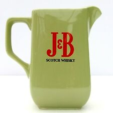 Vintage Retro Bar Advertising Water Jug Wade PDM J&B Scotch Whisky