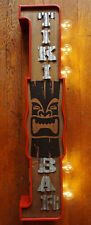 LARGE DOUBLE SIDED RETRO STYLE LED LIGHTED TIKI BAR MARQUEE SIGN Beach Decor NEW
