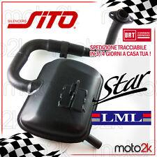 0744 TERMINALE SCARICO MARMITTA SITOPLUS LML STAR 4 200 4 TEMPI 4T 2012 2013