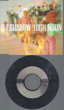 CD--PROMO--DJ SHADOW--HIGH NOON