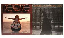 Two Neil Young Lp Records Decade & After the Gold Rush 4 Disks