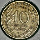 Moneda 10 centimos Francia 1963