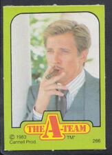Monty Gum 1983 A-Team TV Series Card - Card No 266 (S115)