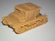 WWII POLISH C7P ARTILLERY TRACTOR. 1/72 Scale. RESIN Model Kit -P6