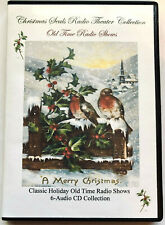 Christmas Seals Radio Theater Collection 1943-1965-6 Audio Cd's-Christmas Songs