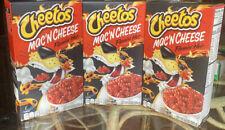 3x Cheetos Mac 'n Cheese Flamin' Hot Flavor 5.9 Oz  NEW and FAST SHIPPING!