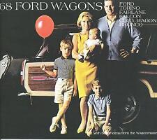 1968 FORD FAIRLANE/TORINO/FALCON/CLUB WAGON/BRONCO WAGON SALES BROCHURE