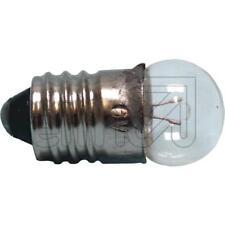 10x Bulbs E10 Clear Sphere Lamp 10 Piece 2,5V 3,5V 4,5V 4,8V 6V