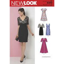 NEW Look Sewing Pattern MISSES Donna Abiti Plus SZ 10-22 ~ 6410