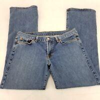 Lucky Brand Women's Jeans Mid Rise Flare Regular Length Size 12/31 Inseam 29