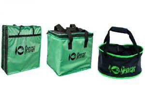 Sensas Challenge Match Fishing Luggage Net Bag Cool bag GroundBait Bowlset
