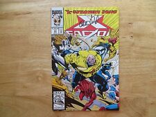 1992 VINTAGE MARVEL COMICS X-FACTOR # 84 X-CUTIONER'S SONG SIGNED BY PETER DAVID