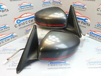 Nissan 370Z Nismo Wing Mirror Pair Power Folding 7 Wire 20/11