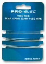 PACK OF fusewire fuse wire 5a 15a 30a for old rewireable fuseboxes 230v 240v