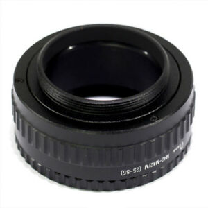 M39 to M42 Mount Lens Adjustable Focusing Helicoid Macro Tube - 25mm to 55mm