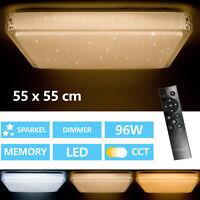 Plafonnier LED Ciel Étoilé Lampe Lumière Plafonnier Salon