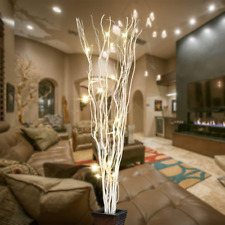 36Inch 16LED Natural Willow Twig Lighted Branch USB Plug-in and Battery Powered