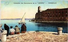 CPA MARSEILLE Collection des Savonneries de la Grappe (339592)