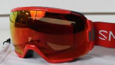 New 2018 Smith Vice Ski Snowboard Goggles Fire Split ChromaPop Everyday Red
