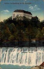 Zschopau Sachsen Erzgebirge AK 1919 gelaufen nach Ringethal Schloss Sachsenburg