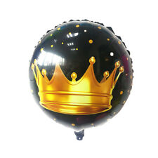 1pc crown balloons Birthday Party Decor Wedding prince Baby Shower Supplies H&P