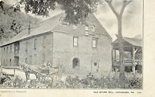 Old Stone Mill in Catawissa PA Pre 1908