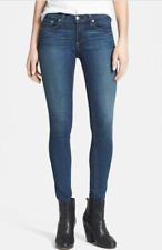 Rag & Bone Skinny Jeans Kensington Dark Blue Wash 27 Women's