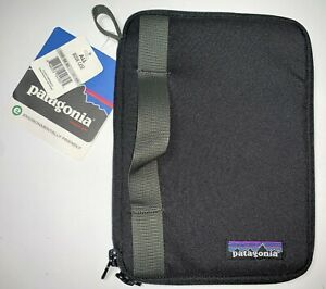 """NEW Patagonia Black Zip Padded All Book Fits iPad Mini 6"""" Kindle Tablet Case"""