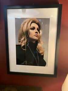 Hollywood Regency - Sharon Tate - Studio 1960's Colour Photo - Matted & Framed
