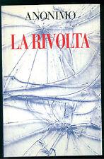 ANONIMO LA RIVOLTA CDE 1993 POLITICA THRILLER