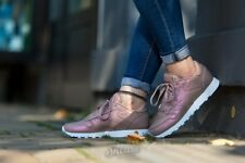 """Reebok Donna Classic Leather TRAINER """"Pearl Pack"""" (rosa scuro/bianco) UK 5.5"""
