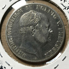 1859-A Germany Prussia Thaler Taler Silver Coin