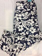 Shaver Lake Multicolor Floral Cotton Blend Size16 New $36.50Capri Blue