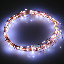 2m 20led Copper Wire Fairy String Lights Xmas Wedding Party Garden White Oz