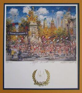 Kamil Kubik NYC Marathon 1998 Signed Limited Edition Print