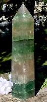 575.2g  WHOA! MASSIVE Natural Fluorite Mineral Crystal Healing Wand USA Reiki