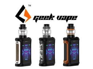 GeekVape Aegis X 200W Kit Set mit Cerberus Tank 5,5ml E-Zigarette