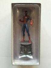 MARVEL CHESS FIGURINE ECHEC N° 1 SPIDER-MAN SPIDERMAN CAVALIER BLANC NEUF
