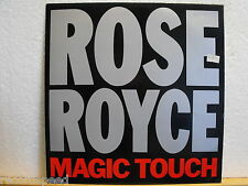 """★★ 12"""" Maxi - ROSE ROYCE - Magic Touch (Extended Version) Streetwave MKHAN 21"""