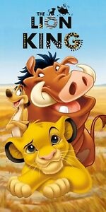 Lion King Beach Towel Disney Character Kids Swimming Holiday