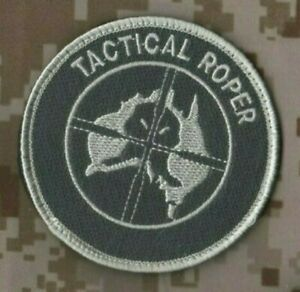 AUSSIE ARMY AUSTRALIAN SPECIAL OPERATIONS GROUP SAS velkrö PATCH: TACTICAL ROPER