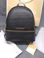 Hot Genuine Michael Kors Rhea Backpack Black  Handbag hot sales