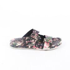 Givenchy Sandals Black Camouflage Rose Floral Birkenstock SZ 39